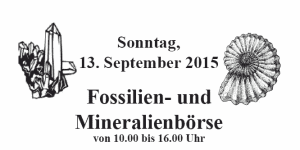 Fossilien- und Mineralienbörse in Rendsburg am 13. September
