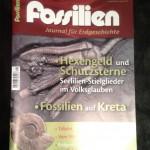 Cover der Zeitschrift Fossilien Ausgabe 1-2014
